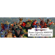 EVENT - BLOOD BOWL TOURNAMENT - EXETER LEGIONARY 13TH MAY