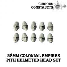 COLONIAL EMPIRES PITH HELMETED HEAD SET