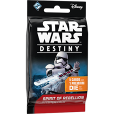 STAR WARS DESTINY SPIRIT OF THE REBELLION BOOSTER PACK