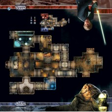 STAR WARS IMPERIAL ASSAULT JABBA'S PALACE SKIRMISH MAP