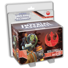 STAR WARS IMPERIAL HERA SYNDULLA AND C1-10P ALLY PACK