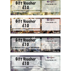 GIFT CERTIFICATE £10
