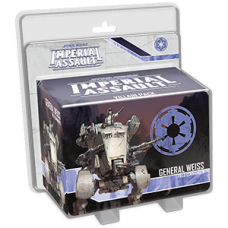 STAR WARS IMPERIAL ASSAULT GENERAL WEISS VILLAIN PACK