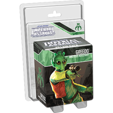 STAR WARS IMPERIAL ASSAULT GREEDO VILLAIN PACK